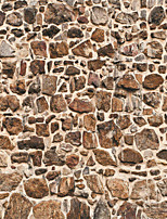JAMMORY Wallpaper For Home Wall Covering Canvas Adhesive required Mural Irregular Stones Piled3XL(14'7''*9'2'')