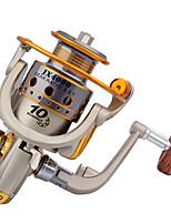 Molinetes Rotativos 5.5:1 10 Rolamentos Trocável Pesca de Mar / Rotação / Pesca de Água Doce / Pesca Geral-JX4000 #