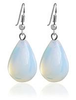 Alloy Hoop Earrings Clear Hoop Earrings Wedding/Party 1 pair