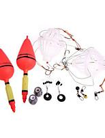 Для рыбалки-2 pcs штук-Многофункциональный Белый / Серебро Углерод-HXYПресноводная рыбалка / Другое / Ловля карпа / Ужение на спиннинг /