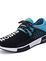 Men's Sneakers Spring / Fall Comfort Tulle Casual Flat Heel  Blue / Green / Red Walking