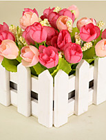 Hi-Q 1Pc Decorative Flower Roses Wedding Home Table Decoration Artificial Flowers