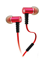 Beevo EM210 Headphone Sports Music Earphone High Sound Quality Stereo In-Ear Headset with Mic Retail Package