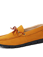 Men's Soft Suede Driving Shoes for Casual Non-slip Soles Man's Loafers in the Four Seasons
