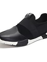 Men's Sneakers Spring / Summer / Fall Comfort Cowhide Outdoor / Athletic Flat Heel Others Black / Blue Sneaker