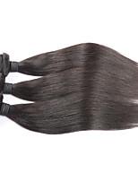 Unprocessed 7A Natural Black soft Brazilian Virgin Hair Straight Brazilian Straight Hair Deals Online 3 Bundles