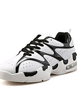 Women's Sneakers Spring / Summer / Fall / Winter Comfort PU Athletic Flat Heel Others Black / Red / White Sneaker