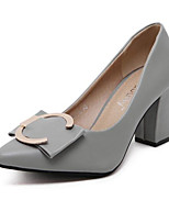 Women's Heels Fall Heels Leatherette Outdoor Low Heel Others Black / Green / Gray Others