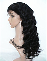 Body Wave Lace Wigs Glueless Malaysian Remy Human Hair Natural Deep Body Wave  Full Lace Wigs with Baby Hair