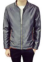 The spring of 2016 young men's men's Baseball Jacket thin collar jacket Korean Japanese Metrosexual jacket