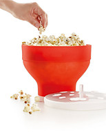 Sincone Microwave Popcorn Maker Foldable Pop corn Bowl Maker Popcorn Baking Tool