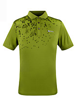Outdoor Men's Tops Leisure Sports Comfortable Spring / Summer / Autumn Others-Sports
