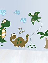 Cartoon Dinosaur Park Wall Stickers Environmental Fashion Animals Children's Bedroom Wall Decals