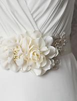 Satin Hochzeit / Party / Abend / Alltagskleidung Schärpe-Applikationen / Perlen / Blumen / Strass Damen 250cmApplikationen / Perlen /