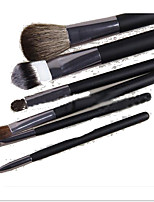 6 Makeup Brushes Set Horse Portable Wood Face ShangYang