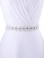 Satin Hochzeit / Party / Abend / Alltagskleidung Schärpe-Perlstickerei / Applikationen / Perlen / Strass Damen 250cmPerlstickerei /