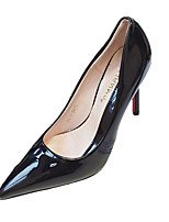 Women's Heels Summer Heels Patent Leather Wedding / Casual Stiletto Heel Others Black / Red / Fuchsia Others