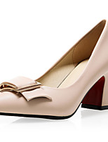 Women's Shoes Leatherette the four seasons Heels / Basic Pump / Pointed Toe Heels Office & Career /  CasualChunky