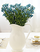 Hi-Q 1Pc Decorative Flower Calla Lily Wedding Home Table Decoration Artificial Flowers