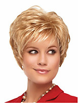 Ms Fashion in Europe And The Short Hair Golden Yellow Side 4 Inch