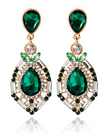 1pair/green Stud EarringsforWomen