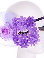 Lace Mask 1pc Máscaras de fiesta Decoraciones del partido Cool / Moda Tamaño Único Morado Encaje