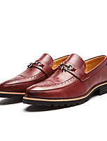 Men's Flats Spring / Summer / Fall / Winter Flats Microfibre Office & Career / Casual Flat Heel Others