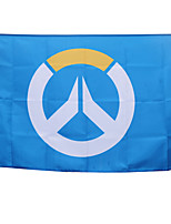 Overwatch Cosplay Blue  Flag 96X64CM More Accessories