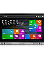 Lärm 2 8 Zoll 800 * 480 Auto-DVD-Spieler mit gps navi Radio im Armaturenbrett eingebaute 3G wifi bt ipod / iphone SWC usb / sd