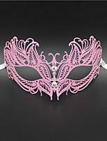 Women's Laser Cut Metal Venetian Butterfly Design Metal Mask1013B1