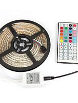 1pcs Super Bright LED Strip Light 2835 5M Waterproof RGB DC12V Flexible Strip tape light,60LED/m,
