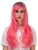 Pink gradient long curly hair wig.WIG LOLITA, Halloween Wig, color wig, fashion wig, natural wig, COSPLAY wig.