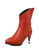 Women's Shoes    Heels / Fashion Boots Boots Outdoor / Office & Career / Casual Stiletto Heel OthersBlack  &HQ286