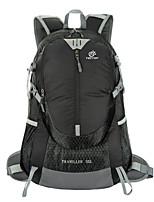 35 L sac à dos Camping & Randonnée Extérieur Résistant aux Chocs / Multifonctionnel Vert / Rouge / Noir Nylon / Térylène Tectop