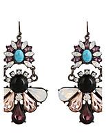 Fine Jewelry European Style High-Grade Charms Fashion Crystal Diamond Zinc Alloy Earrings