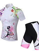 Sports Bike/Cycling Clothing Sets/Suits Women's Short Sleeve Breathable / Quick Dry / Sweat-wicking / Comfortable LYCRA®