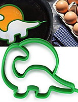Silicone Dinosaur Shaper Pancake Ring Egg Fried Mould Egg Molds Kitchen Tools