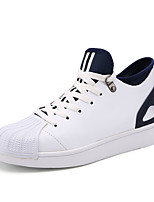 Unisex Sneakers Spring / Fall Comfort PU Casual Flat Heel  Black / Blue / Red Sneaker