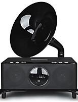 Retro Gramophone Audio Power Subwoofer Stereo Bluetooth Speaker Multimedia Computer