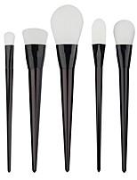 Professional 7pcs Black Foundation blush Liquid Kabuki Brush Makeup Brushes tools set Beauty Cosmetics