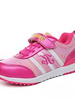Фиолетовый / Коралловый / Арбузный-Для девочек-Для прогулок / Для занятий спортом-Полиуретан-На плоской подошве-С круглым носком-Кеды
