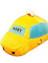 Cat / Dog Toy Pet Toys Plush Toy / Squeaking Toy Squeak / Squeaking / Shoes Plush White / Yellow
