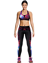 Running Compression Clothing Women's Sleeveless Breathable / Quick Dry / Compression Terylene Yoga / Fitness / Running Sports Sports Wear