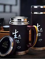 revestimiento de filtro de color púrpura taza taza del regalo del día del padre