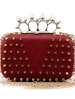 L.west Women Elegant High-grade Rivet Evening Bag