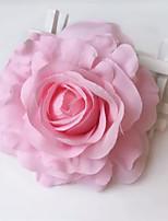 Wedding/Birthday Polyester Crafts White / Beige / Pink / Yellow / Blue / Purple 1pc Floral Crafts