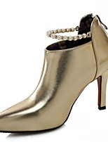 Mujer-Tacón Stiletto-Confort / Innovador / Pump Básico / Botas a la Moda-Botas-Boda / Oficina y Trabajo / Vestido / Casual / Fiesta y