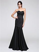 TS Couture® Formal Evening Dress Fit & Flare Sweetheart Floor-length Satin with