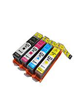 картридж принтера (внутренний совместимый с чипом) группа из четырех цветов черный, красный, желтый, синий