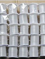 80m / roll wit elastische lijn voor diy kralen koord vis sport sieraden
